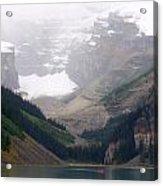 Misty Paddle - Lake Louise, Alberta Acrylic Print