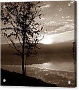Misty Reflections S Acrylic Print