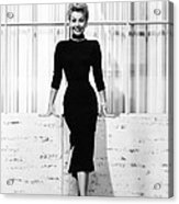 Mitzi Gaynor, Ca. 1950s Acrylic Print by Everett