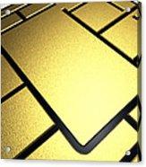 Mobile Phone Sim Card Chip Acrylic Print by Pasieka