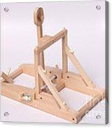 Model Catapult Acrylic Print