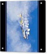 Model Plane 7 Acrylic Print