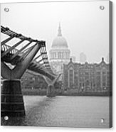 Modern And Traditional London Acrylic Print