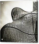 Modern Basket Weaving In London Acrylic Print