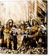 Modern Battle Field Acrylic Print