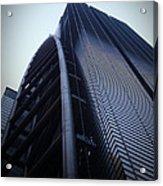 Modern Building In Tokyo Acrylic Print by Naxart Studio