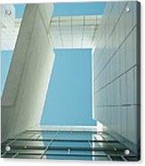 Modern Building Viewed From Below Acrylic Print