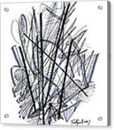 Modern Drawing 112 Acrylic Print