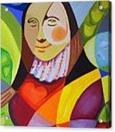 Modern Lisa Acrylic Print