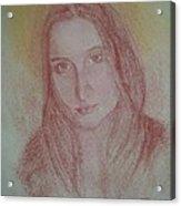 Modern Madonna Acrylic Print