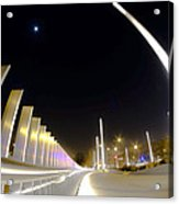 Modern Street Lighting Acrylic Print