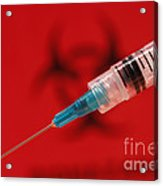 Modern Syringe Acrylic Print