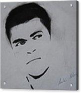 Mohammed Ali Acrylic Print by Ahmed Mustafa