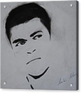 Mohammed Ali Acrylic Print