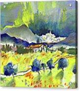 Mojacar In Spain 01 Acrylic Print