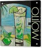Mojito Poster Acrylic Print