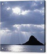 Mokolii Island Acrylic Print