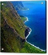 Molokai Coast Acrylic Print