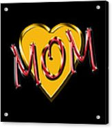 Mom 2 Acrylic Print