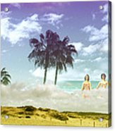 Mom's Tropical Dreams Acrylic Print