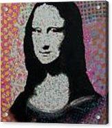 Mona Lisa - Smile Acrylic Print