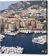 Monaco Harbour Acrylic Print