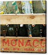 Monaco Wooden Crate Acrylic Print