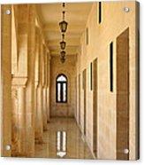 Monastery Passageway Acrylic Print