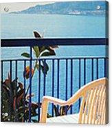 Mondello Bay Sicily Acrylic Print