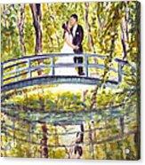 Monet Wedding Acrylic Print