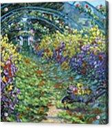 Monet's Autumn Acrylic Print
