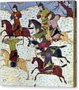 Mongol Battle, C1400 Acrylic Print