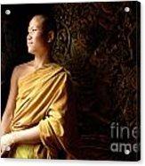 Monk Alex Laos Acrylic Print