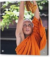 Monk In The Bell Tower #2 Acrylic Print
