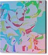 Monkey Clown Acrylic Print