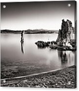 Monochromatic Mono Lake Sunrise Acrylic Print