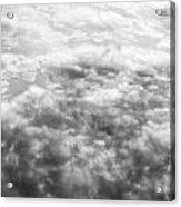 Monochrome Clouds Acrylic Print