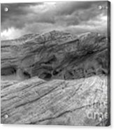 Monochrome Landscape Project 3 Acrylic Print