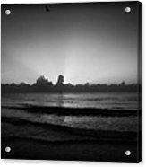 Monochrome Miami Acrylic Print