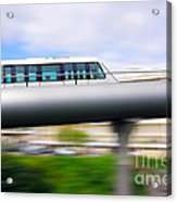 Monorail Carriage Acrylic Print