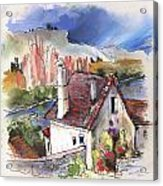Monpazier In France 05 Acrylic Print