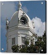 Monroeville Courthouse Clock Acrylic Print