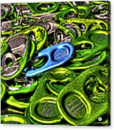 Monster Can Tabs Detroit Mi Acrylic Print