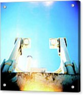 Monster Eyes Acrylic Print