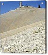 Mont Ventoux.provence Acrylic Print by Bernard Jaubert
