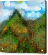 Montain Acrylic Print