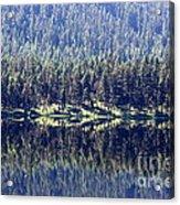 Montana Lake Reflection Acrylic Print