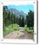 Montana Mudhole Acrylic Print