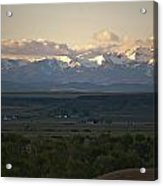 Montana Sunrise Acrylic Print