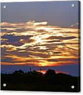 Montana Sunset Acrylic Print